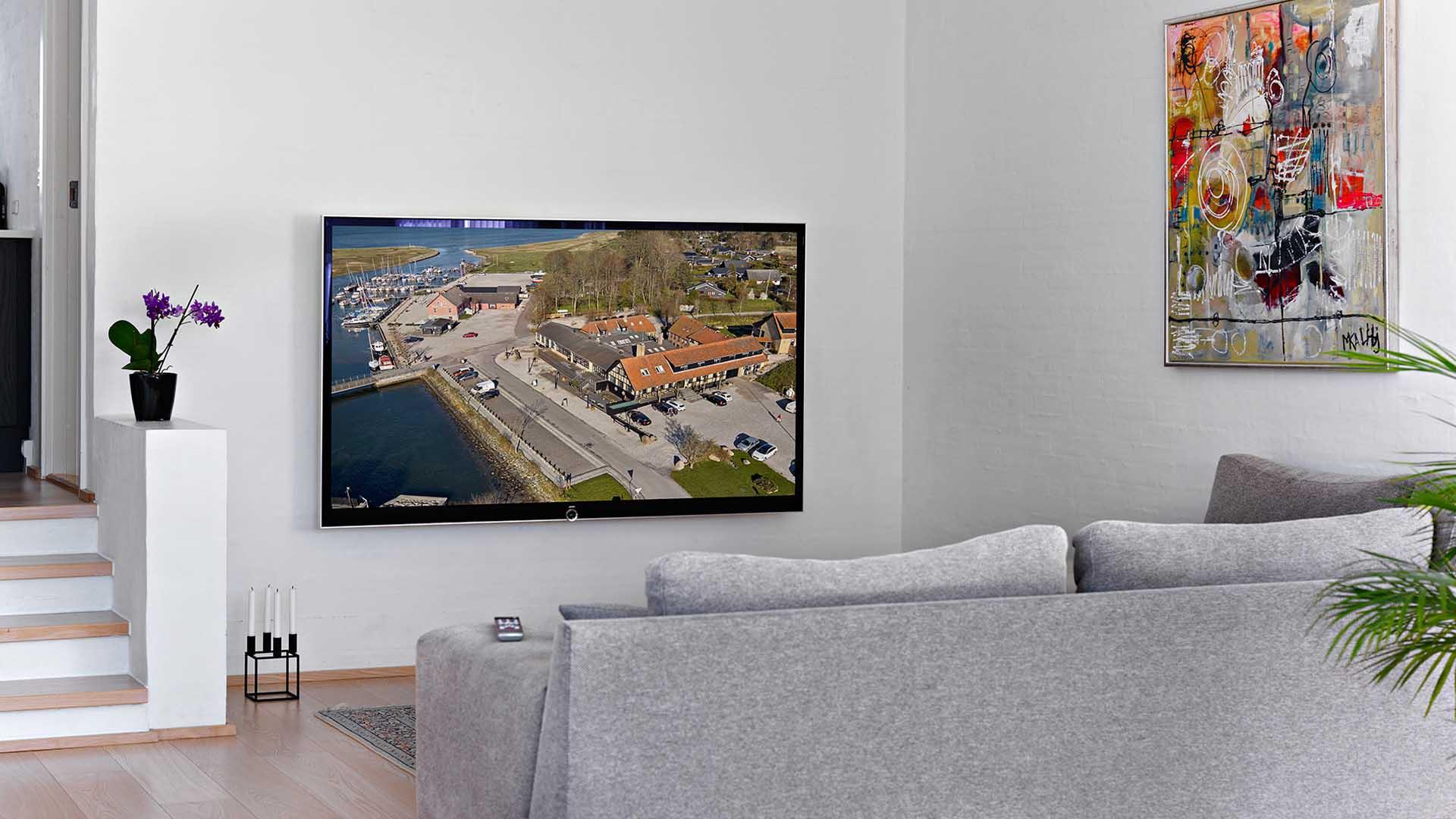 Storskærm i TV-stuen - Scala Hifi Scala Hifi
